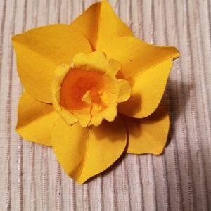 Jewelry - Handmade Daffodill Brooch